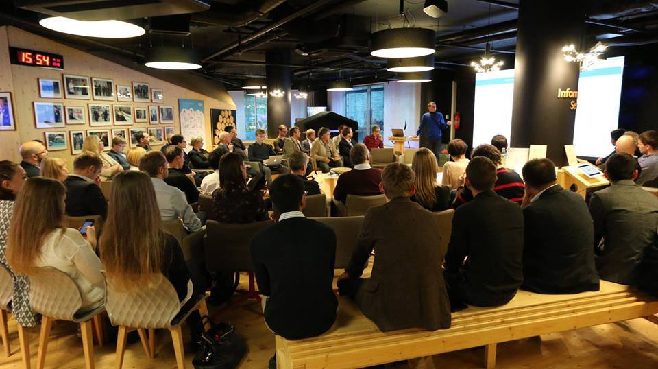 E-residents and service providers gathered offline in Tallinn for an e-Residency roundtable